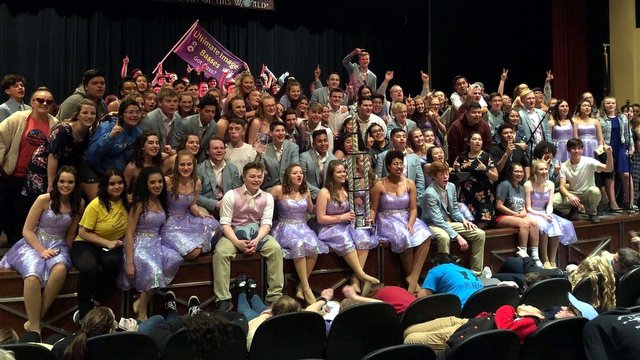 ''Ultimate Image'' from Grand Island High School ''rock'' Lincoln Northeast with their first GC of the season