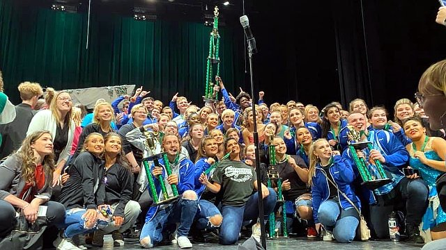 Whiteland ''Rhythm Masters'' take top honors at Pendleton Heights, along with best vocals and choreography