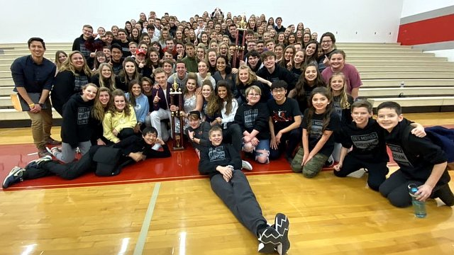 The middle and high school choirs from DM Christian each take gold in their divisions at Dallas-Center Grimes