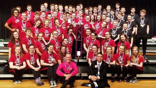 New Castle ''Red Hot Blues'' earns the top spot in the Tier II division at Ben Davis