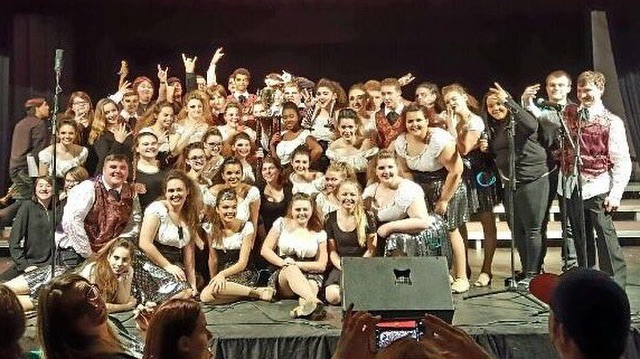 Grand Champion honors at South Harrison went to Robert C. Byrd's ''Vocal Intensity''